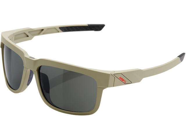 100% Type S Bril, soft tact quicksand/grey peakpolar